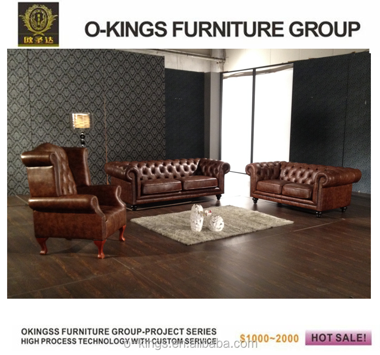 New Model Low Price Chesterfield Sofa Set Design Product On Alibaba