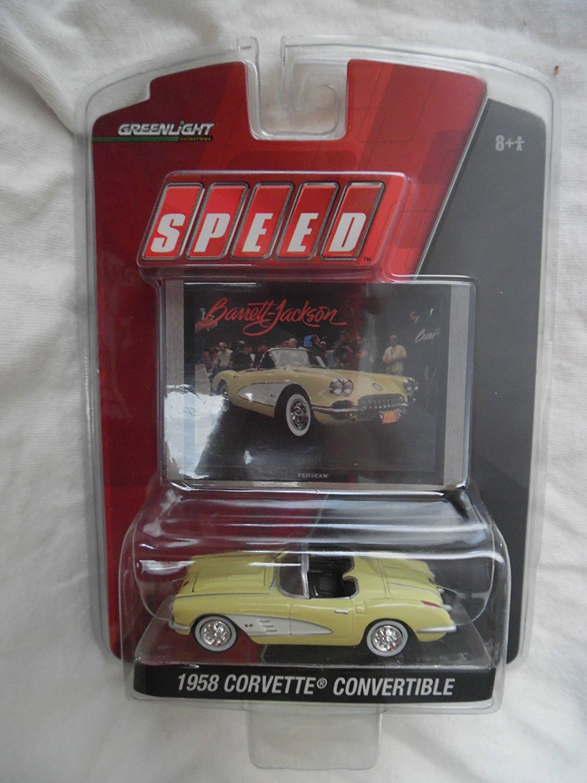 Greenlight Speed Channel Barrett Jackson 1958 Corvette Convertible