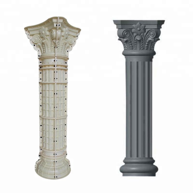 Diameter 30cm concrete column moulds
