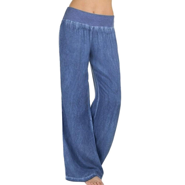 4bffeed3ba87a Get Quotations · Boomboom Women Wide Leg Pants