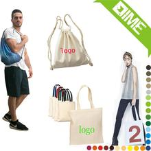 Large Fabric Cotton Lady'S Shopping Bag With Logo Printing