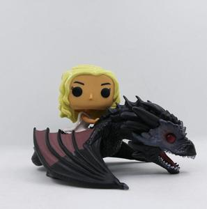 GAME OF THRONES DAENERYS&DRAGON 15#PVC Action Figure Collectible Model toys for children