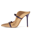New plus size champagne gold mary jane pumps pointed toe sexy high heels ladies court shoes women dress shoes 35 to 46 TLJ-13