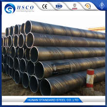 Cold formed ASTM A53 Grade B LSAW welded round steel pipe/tube mild carbon steel pipe/tube for building material