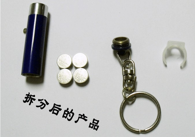Wholesale mini LED flashlight keychains LED Lamp fashion torch keychain for promotional gifts items