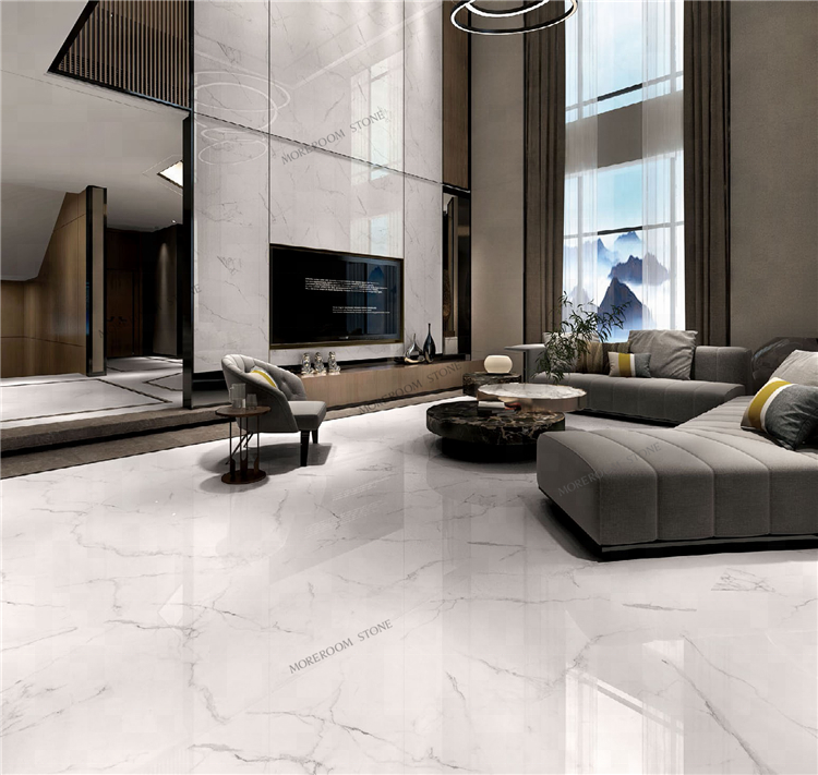 600x1200 Wholesale White Calacatta Marble Stone Porcelain Tile For Floor -  Buy Calacatta Tile Bathroom,White Tile,600x1200 Floor Tile Product on  Alibaba.com