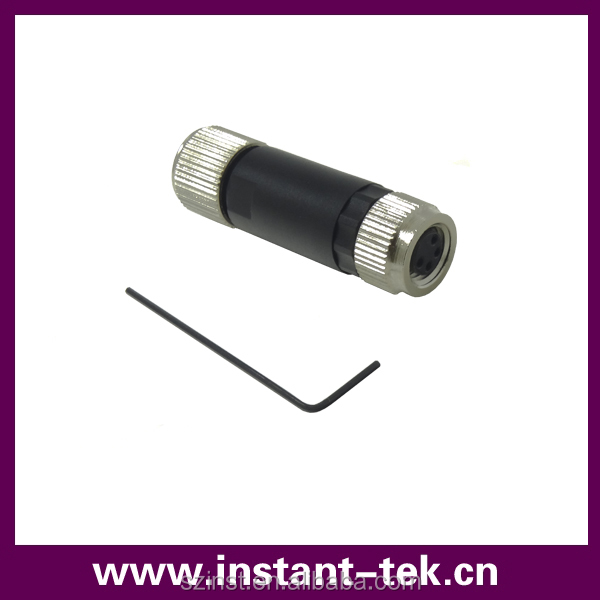 INST m8 sensor industrial connector electrical adapter