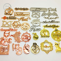 New Product Custom Zinc Alloy Business Names For Jewelry Free Samples
