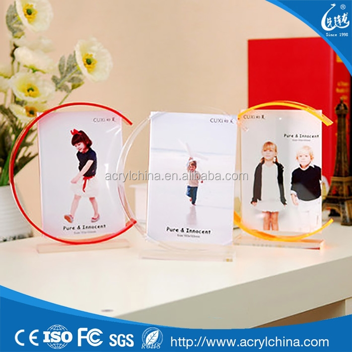 new arrive acrylic wedding picture frames as souvenir for distributor