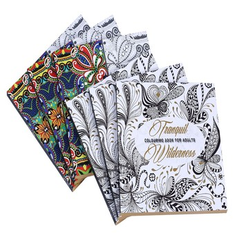 Latest Popular Softcover Book Secret Garden Coloring Painting Book For Adults Buy Secret Garden Coloring Book Secret Garden Painting Book