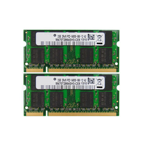 ETT original chips 800mhz pc2-6400 ddr2 333mhz 2gb ram for notebook