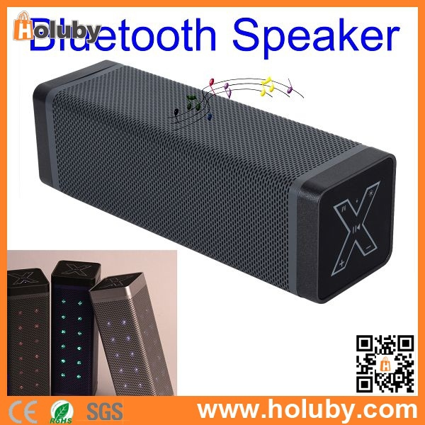 PayPal! Newest Cube Rectangle Design Cube Bluetooth Speaker With LED Light, Wireless Bluetooth Cube Speaker Support TF Card/USB