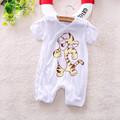 Free shipping baby short sleeve cartoon tigger SUmmer romper infant rompers boy s girl s Wear