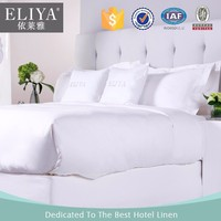 100% cotton hotel sheets 1000 thread count double bed,hotel sheets bed,hotel used white cotton bed sheets made in china