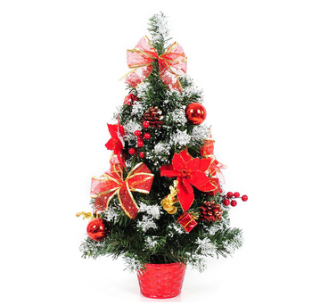 artificial decoration table top mini christmas tree