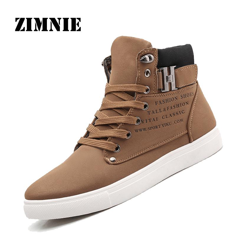 2016 Hot Men Shoes Sapatos Tenis Masculino Male Fashion Autumn Winter Leather Fur Boots For Man