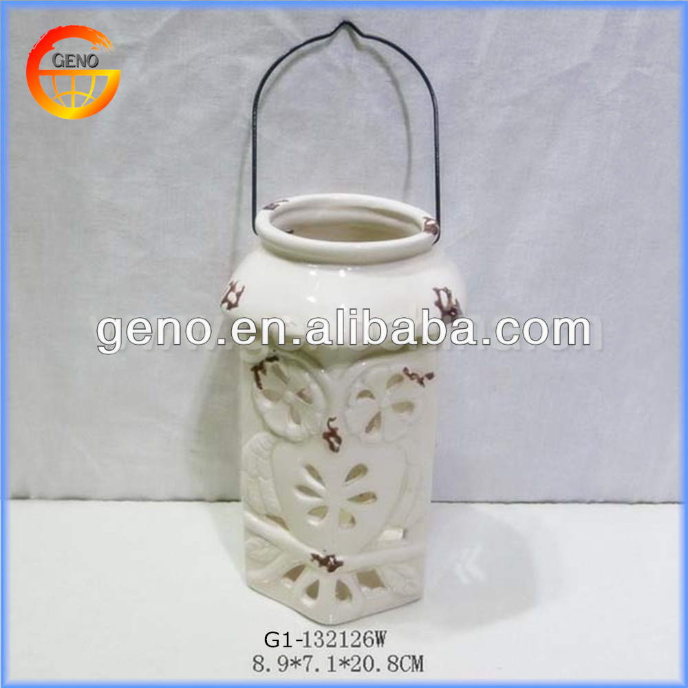 Hot Sale!!! Excellent ceramic antique lantern