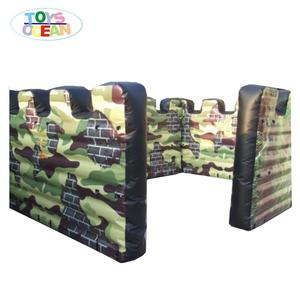 Factory Price military inflatable bunker/ paintball games