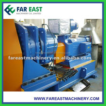 Continuous copper extruding machine