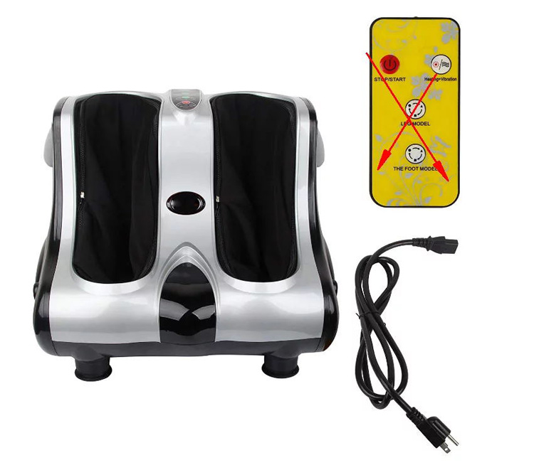 Blood circulation vibration massager for foot warmer leg air compression massager