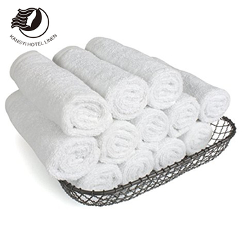 Soft Comfortable Cotton Anti-bacteria Plain Hotel Standard Textile Face Towels From China