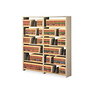 """Tennsco - Snap-Together Six-Shelf Closed Add-On Steel 48W X 12D X 76H Sand """"Product Category: Office Furniture/File & Storage Cabinets"""""""