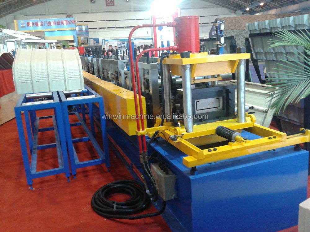 metal sheet C purline/channel roll forming machine