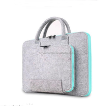 14inch high-quality felt laptop bag,fancy felt laptop bag wholesale,portable felt bag for laptop from Alibaba China