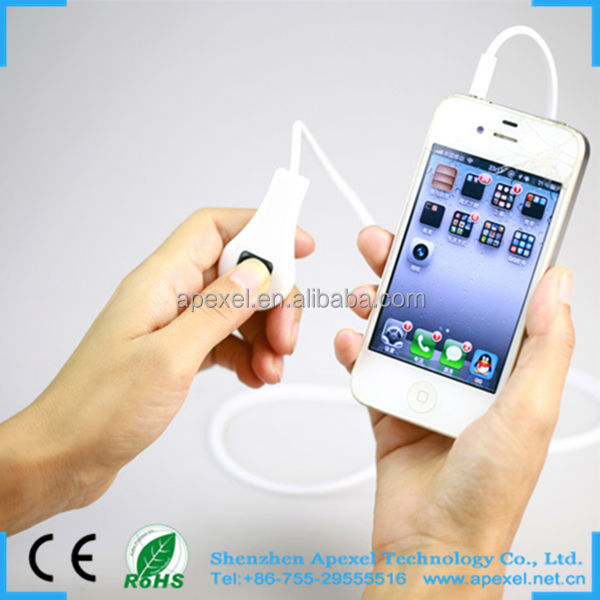 Colorful 3.5 mm Camera Shoot Control Remote Shutter Cable Release for Iphone 4S 5G 5S Samsung