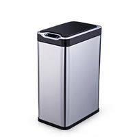 High quality stainless steel trash bin,soft close waste bins compressed garbage can