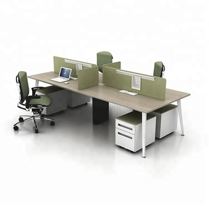 Hot Sales High quality 4 person new model modular steel metal workstation open used modern office furniture for tall people