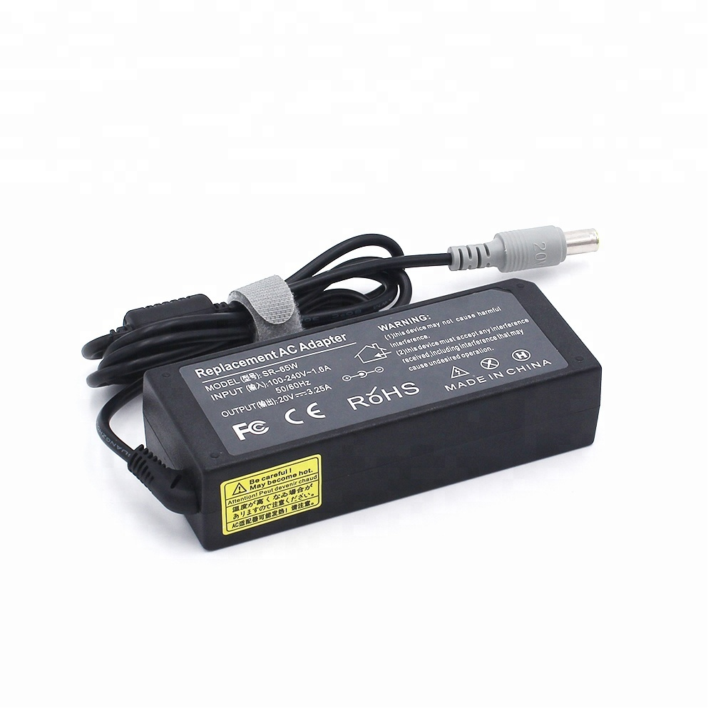 Original 20v 3.25a 65w Ac Adapter Battery Charger For Ibm Lenovo Thinkpad X60 T60 Z60 R60 Notebook Cheap Sales 50% Laptop Adapter