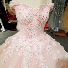 LS00366 off shoulder pink bead peplum arabic bridal train dresses for party dresses for evening gowns girls women