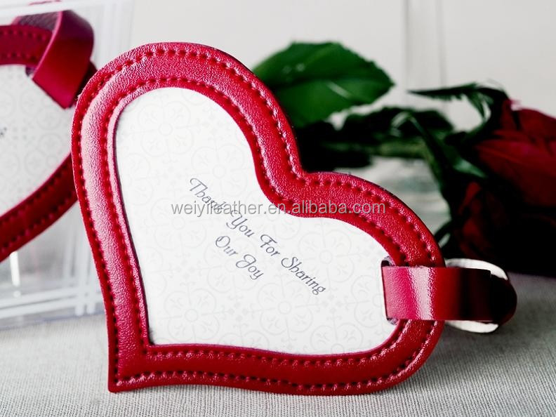 Good Quality Leather Luggage Tags Wedding Favor - Buy Leather Luggage Tags Wedding Favor