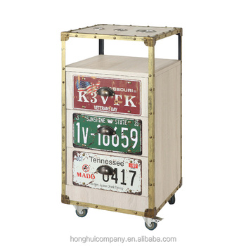 New beauty spa hairdress coloring hair salon trolley H-K059W