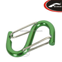 Colorful Outdoor Aluminum S Hook for Keychain
