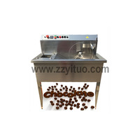 Chocolate Melting Machine Chocolate Enrobing Equipment For Biscuit Wafer Cookies Covering