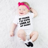 Sandro Bulk Wholesale Newborn Cotton Funny Baby Clothes For Baby Girl