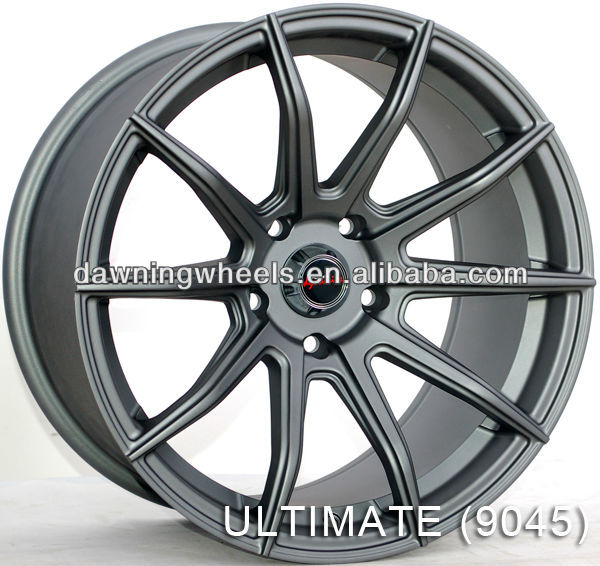 Alloy rims for sale-PDW Super Light Series-DEEP CONCAVE SERIES-ULTIMATE (9045)Multi-spoke racing style wheels