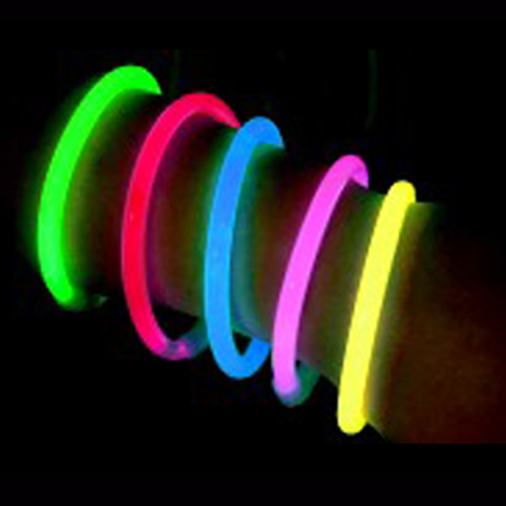 colorful chemical glow light up bracelet