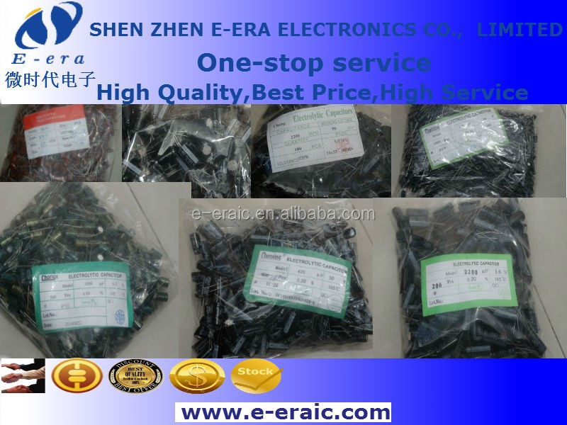 DIP Aluminum electrolytic capacitor 100uF 35v 20% 6*11mm 105C New & original