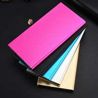 Ultra thin high quality powerbank 10000mah dual usb output battery power bank