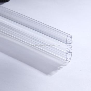 Glass Shower Door Frame Waterproof Seal Strip Frameless Shower