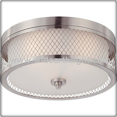 ul cul listed modern usa market brushed nickel bath round hotel glass ceiling light with metal. Black Bedroom Furniture Sets. Home Design Ideas