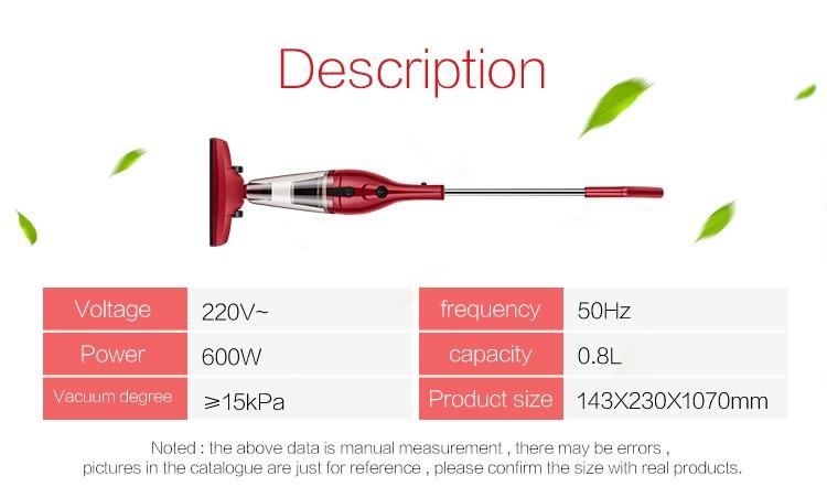 600W most popular product Handheld Vaccum cleaner