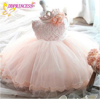 Großhändler Preis Elfenbein Prinzessin Kids Lace Blumenmädchen Kleid ...
