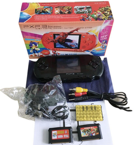 PXP3 Handheld video retro 16 bit tv game console