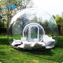 Een Clear Bubble Lodge/Air Dome Tent voor Outdoor <span class=keywords><strong>Camping</strong></span> Wandelen