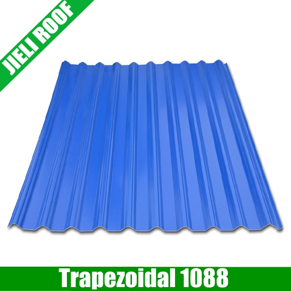 Trapezoidal PVC Roof Sheet for Shed