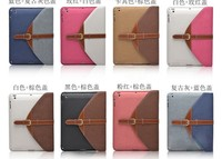 Top trendy laptop bag for Apple ipad air pu leather cover / best quality hot sell for ipad air pu pouch bag new arrival 2015